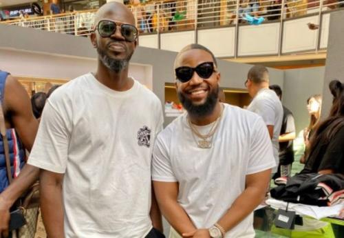 See reactions over Black Coffee and Cassper Nyovest's bromance