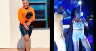 Watch: Makhadzi in trouble for grabbing men's d!ck at shows