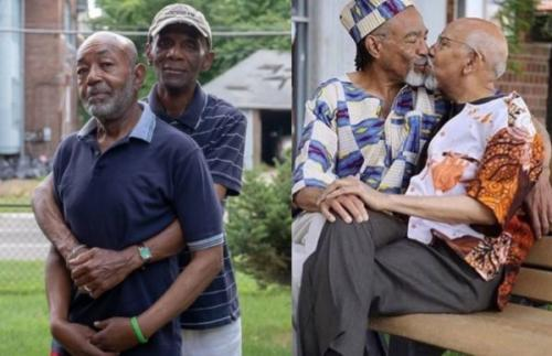 Checkout SA react over photos of elderly gay black couple