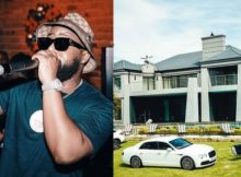 PHOTO: Check out Cassper Nyovest's apartment on night mode