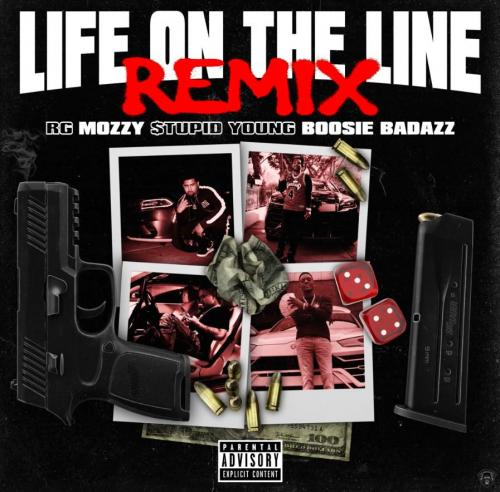 RG ft Boosie Badazz, Mozzy & $tupid Young - Life On The Line (Remix)