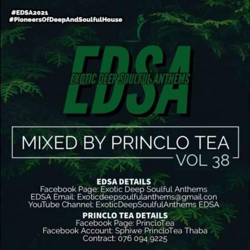 Princlo Tea - Exotic Deep Soulful Anthems Vol. 38 Mix