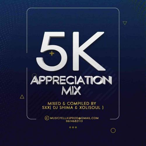 DJ Shima & Xolisoul - 5k Appreciation Mix