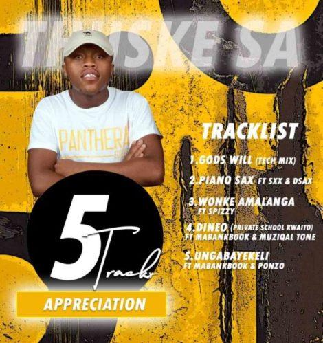 EP: Thuske SA - 5 Tracks Appreciation