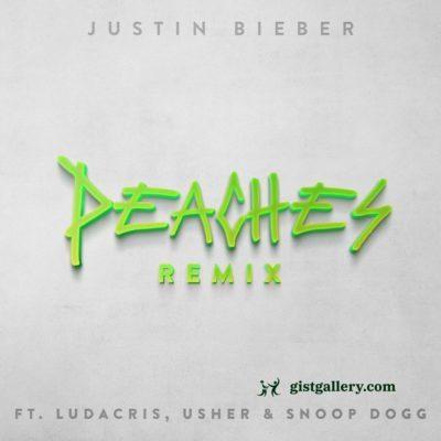Justin Bieber ft Ludacris, Usher & Snoop Dogg - Peaches (Remix)