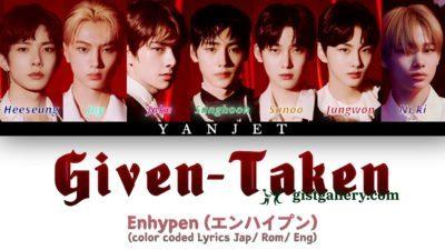 ENHYPEN (엔하이픈) - Given-Taken (Japanese Ver.)