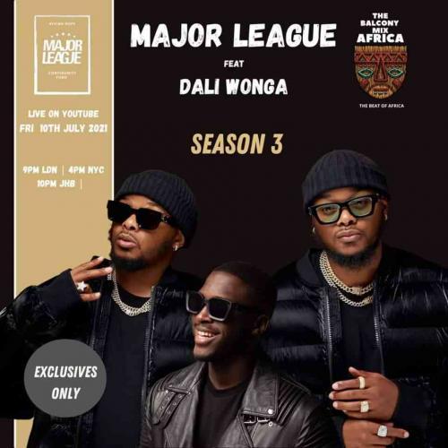 Major League DJz & Dali Wonga - Amapiano Balcony Mix (Bounce Waterfall) -  ZAtunes