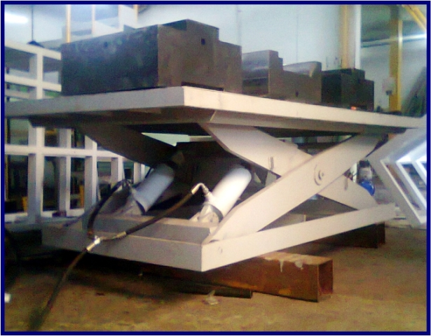 Hydraulic lifter Conveyor Sahl Engineering Cikarang Jababeka