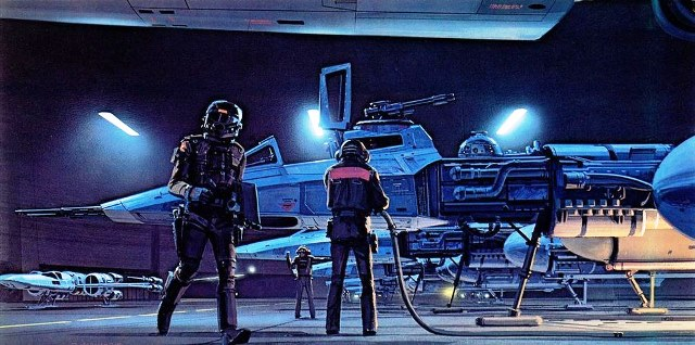 43 Concept Art Film Star Wars - 35