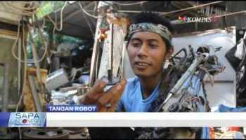 Tangan Robot Iron Man Wayan Sumardana Bali