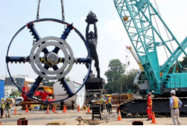 Spesifikasi Mesin Bor MRT Antareja Jakarta