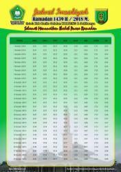Jadwal Imsakiyah 1439 Ramadan 2018 - Barito Selatan - Kalimantan Tengah
