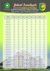 Jadwal Imsakiyah 1439 Ramadan 2018 - Kota Palangkaraya Kalimantan Tengah
