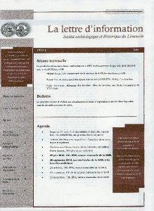 lettre d'information