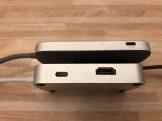 USB-C Adapter Seitenansicht
