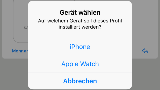 S/MIME unter iOS - Specialization is for insects