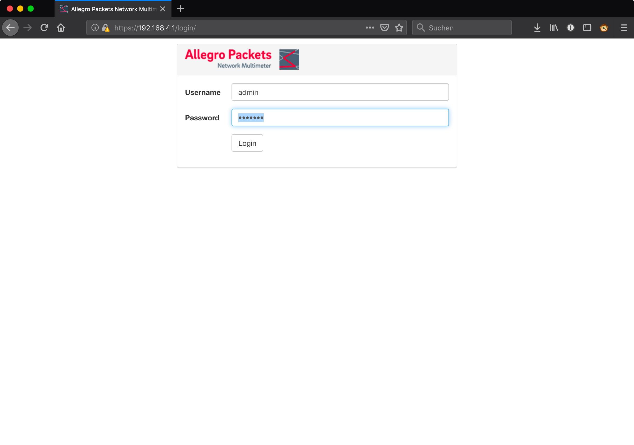 Allegro_Login