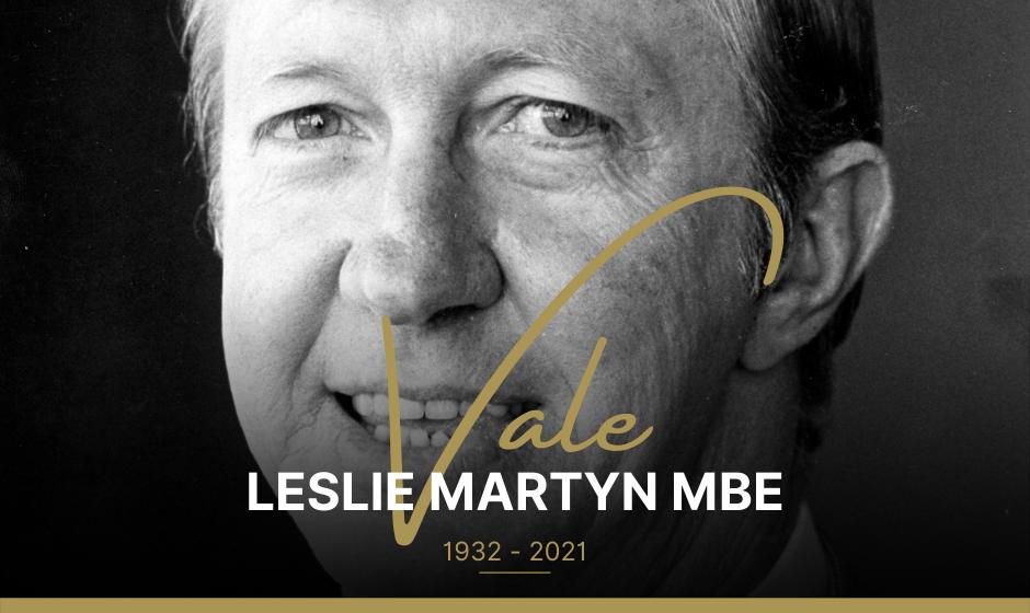 Vale Leslie Martyn MBE