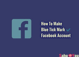 Blue Tick Mark, Account Kaise Banaye, Facebook Tricks, How To, Latest Trick