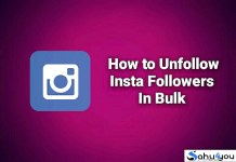 Unfollow Instagram Follower