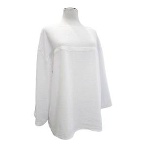 blusa blanca fluída
