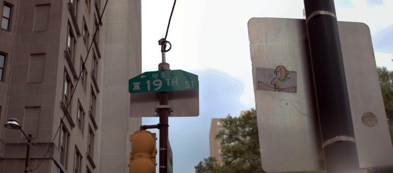 Street Art in Context 1901 Walnut St Philadelphia, PA Copyright 2019, Bob Bruhin. All rights reserved.