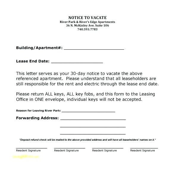 15-30-day-notice-letters-to-landlord-resume-letter  Day Notice To Vacate Letter Landlord Template on