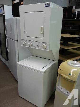 G E Apartment Size Stack Washer And Dryer Combo 110v For