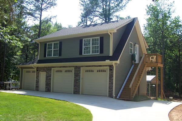 Garages Plus 3 Car Garage With Full Apartment