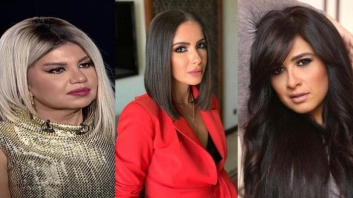 Mona Zaki takes revenge on Yasmine Abdel Aziz and deals a strong slap at Bossi Shalaby on stage!