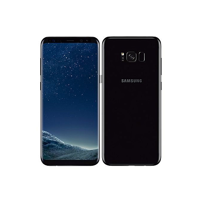 Samsung Galaxy S8 64GB 4GB RAM 12MP Camera Black front back