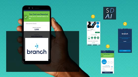 Branch loan app in Kenya, download, install, apply and qualify for a loan.