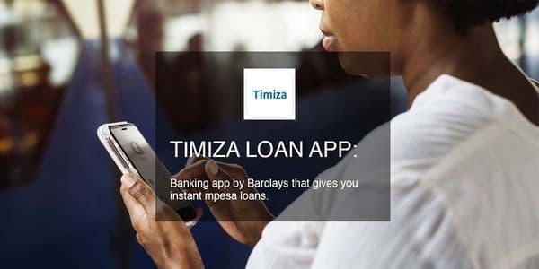 Timiza Barclays banking app