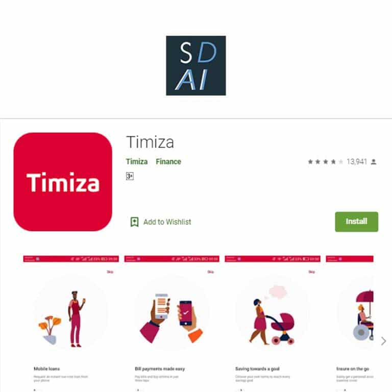 How to download, register and apply for a timiza loan