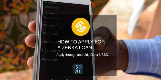 zenka app how to apply for a loan