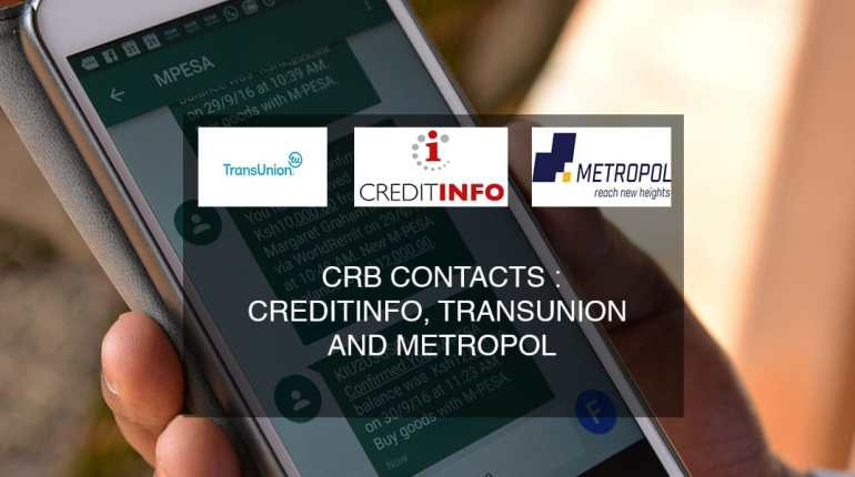 crb contacts metropol creditinfo transunion