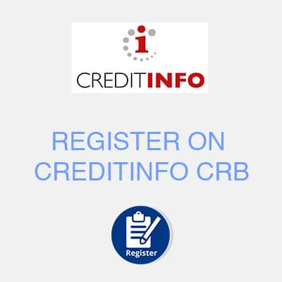 register on creditinfo crb