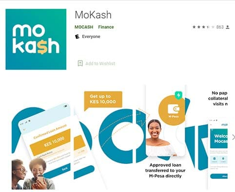 mokash download google play store apk