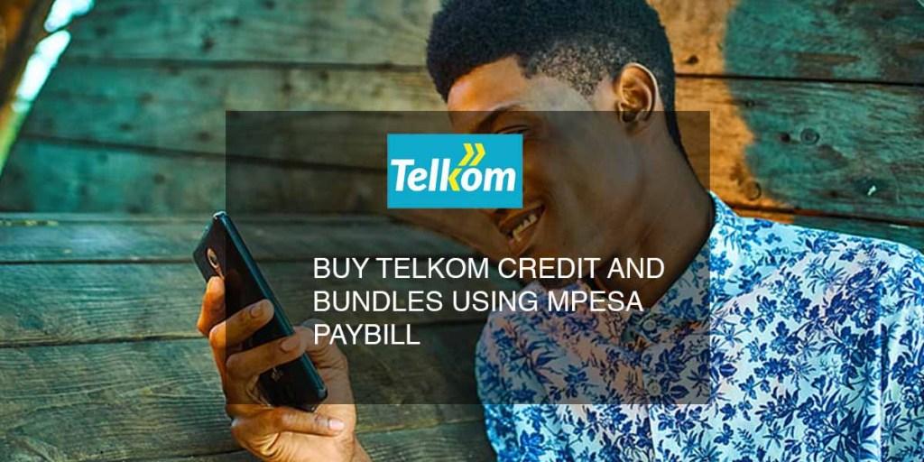 telkom kenya buy credit and bundles using mpesa