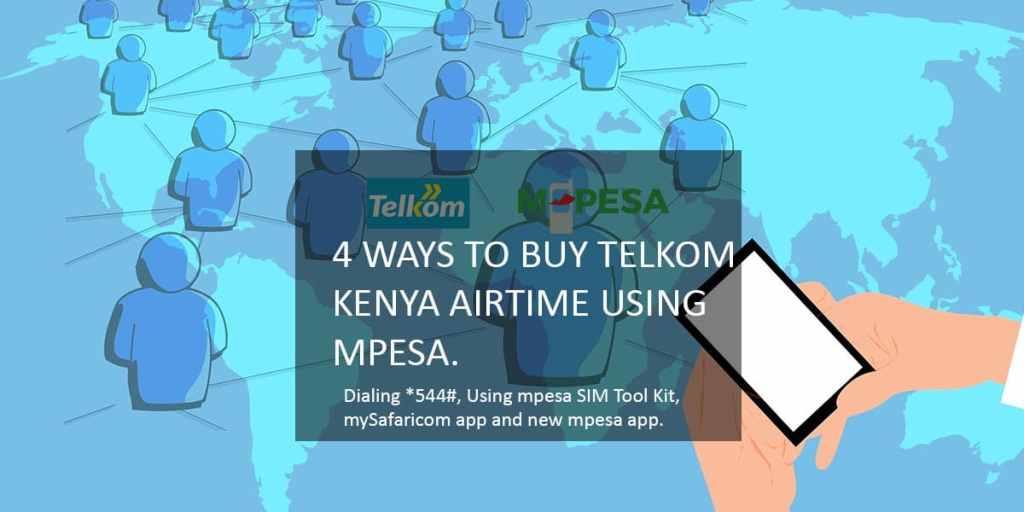 4 ways to buy telkom kenya airtime using mpesa