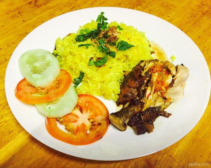 Resipi Nasi Ayam Kuning Yang Mudah Dan Sedap Menggunakan Periuk Tekanan Noxxa