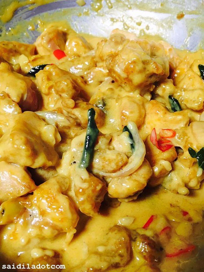 Resepi Nasi Ayam Butter - Surasmi O