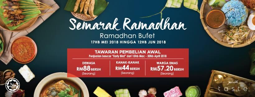 Semarak Buffet Ramadhan Di Geno Hotel Shah Alam