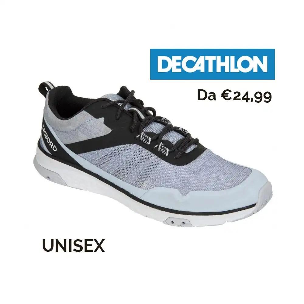 Scarpe_vela_Decathlon - Come vestirsi in barca. 3 consigli