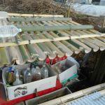 農業施設:第二雨水集水装置の手直し