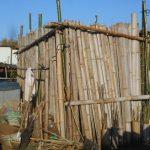 農業施設:農具小屋の修復