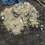 グリーン堆肥づくり:No.7G堆肥の仕込み(1)
