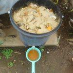 グリーン堆肥づくり:No.10G堆肥の仕込み(1)