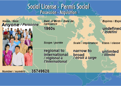Whose Social License is it Anyway?