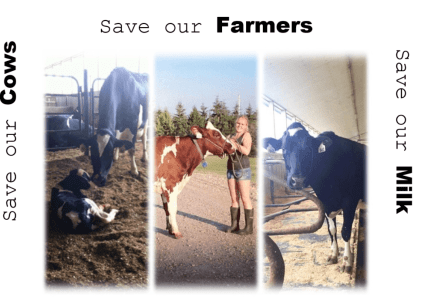Save our……Cows, Farms, & Milk